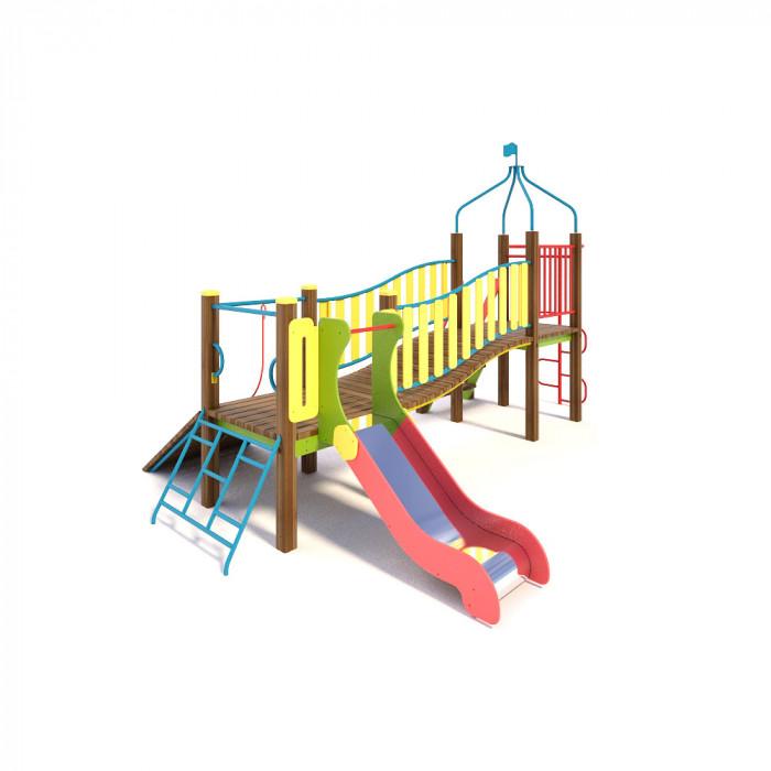 """Rotaļu komplekss """"Mazais tiltiņš"""" TE811"""