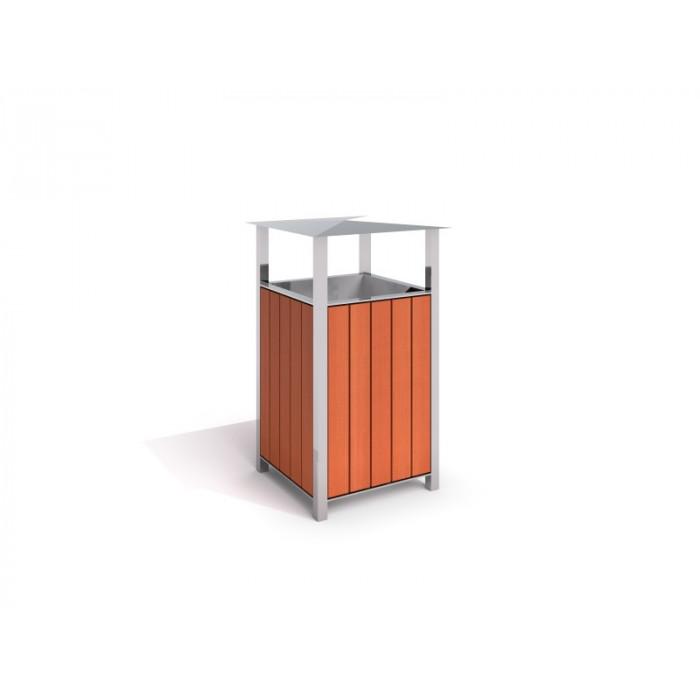 Nerūsējoša tērauda atkritumu tvertne 01