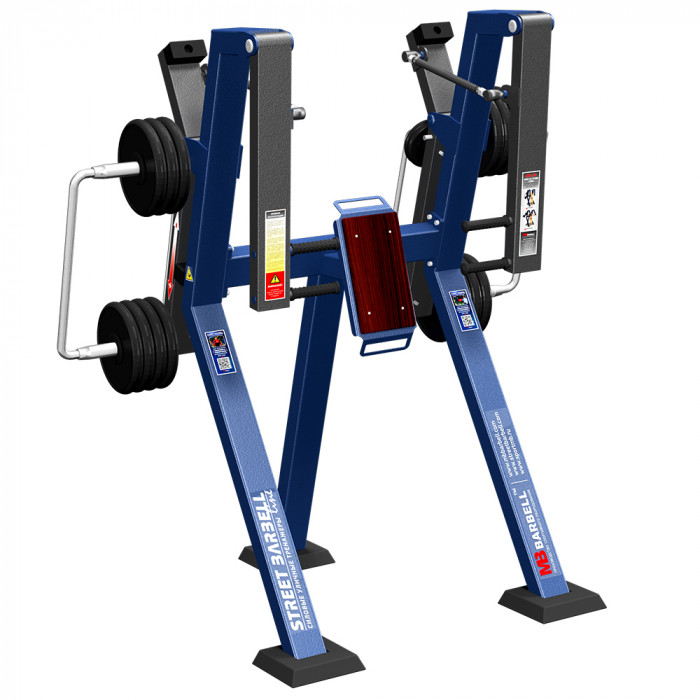 CHEST PRESS IN STANDING  POSITION WITH VARIABLE LOAD