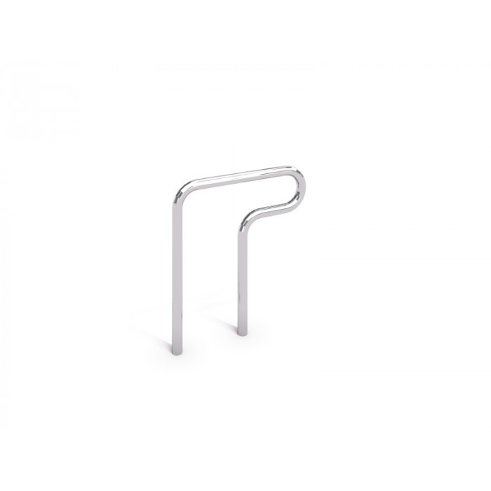 Stainless steel bicycle rack 02