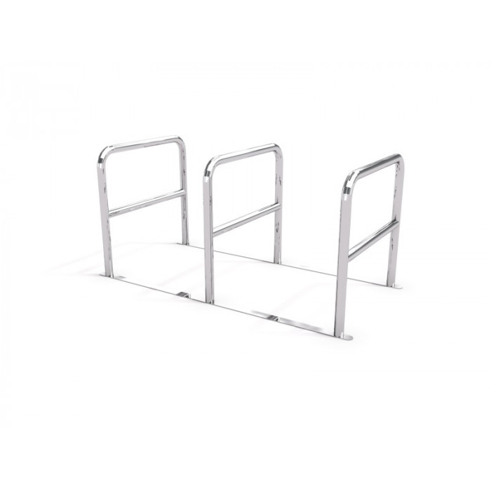Stainless steel bicycle rack 05
