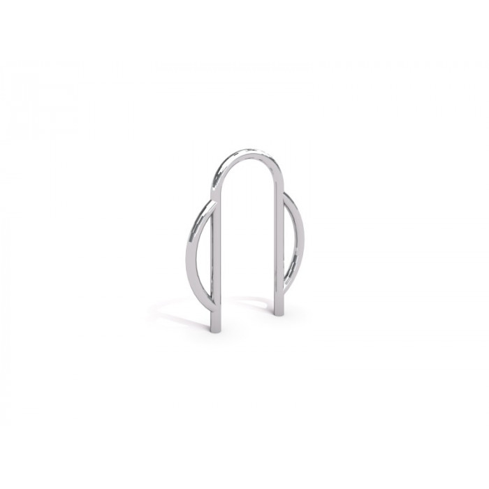 Stainless steel bicycle rack 08