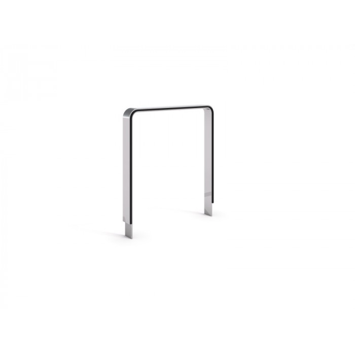 Stainless steel bicycle rack 24