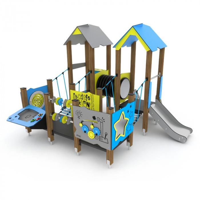 Rotaļu komplekss Wooden WD1503