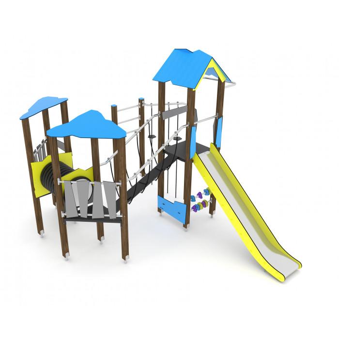 Rotaļlaukumu komplekss Wooden WD1409