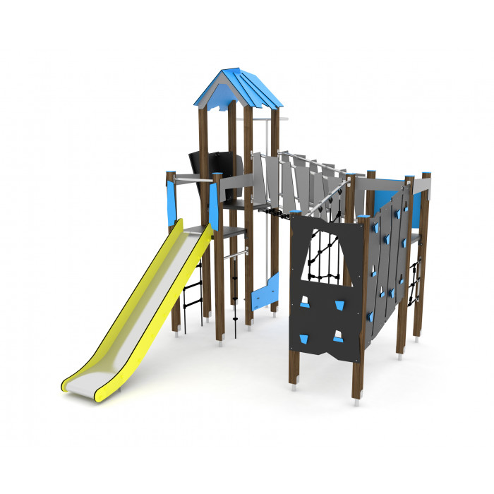 Rotaļlaukumu komplekss Wooden WD1410
