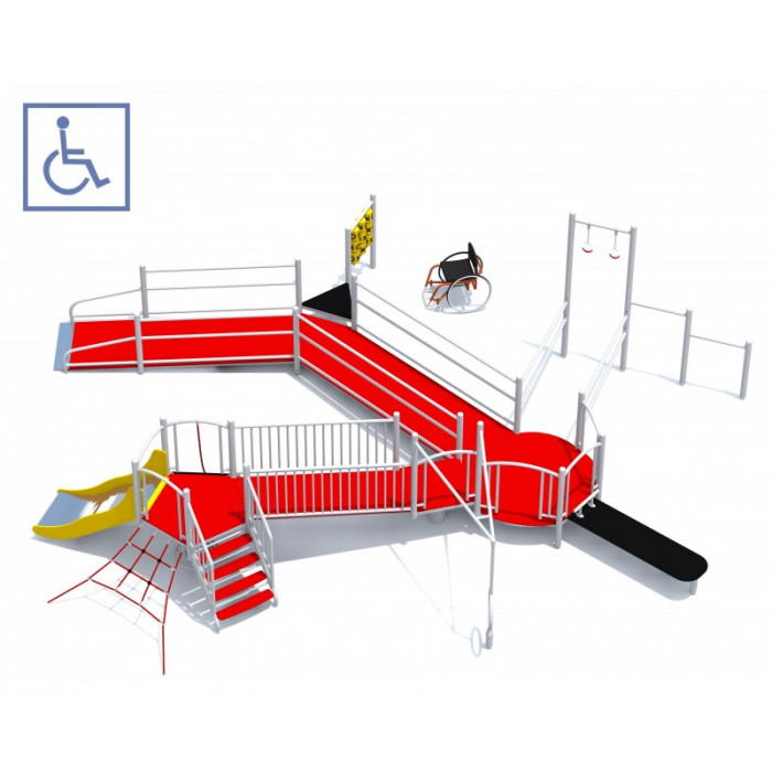 CENTAUR swing for disabled people