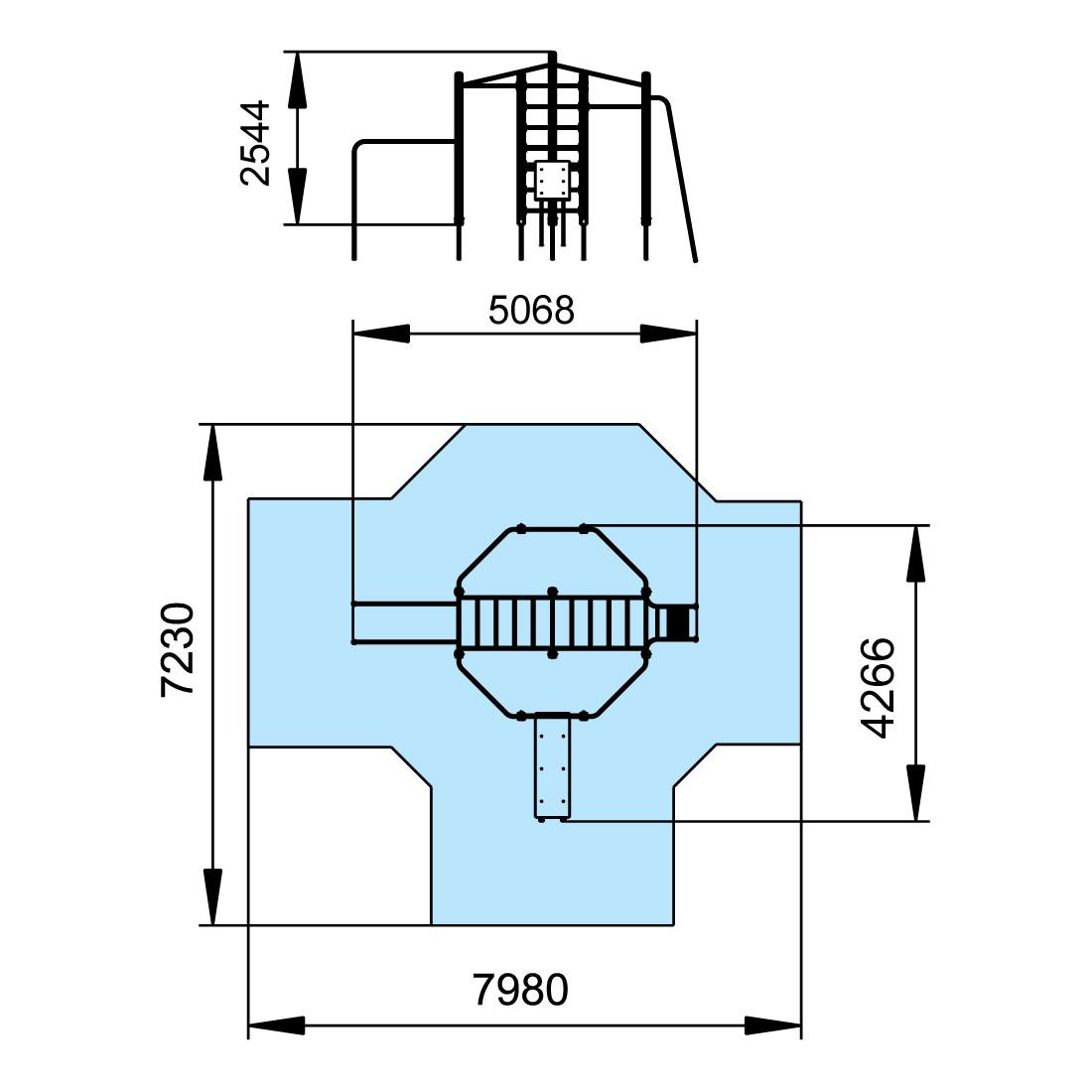 Acrobat Gymnastic Set S726 Schematic Diagram 7230 Download Drawing